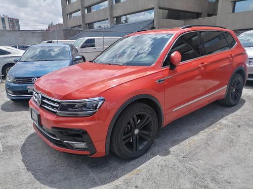 Imagen 1 de 8 de Volkswagen Tiguan Rline Dsg 1.4 Tsi Naranja 2019 Unica