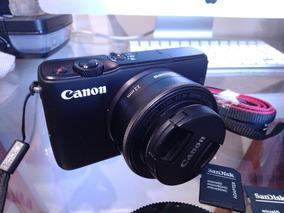 Canon M10 + 22mm 2.0 + Acessórios