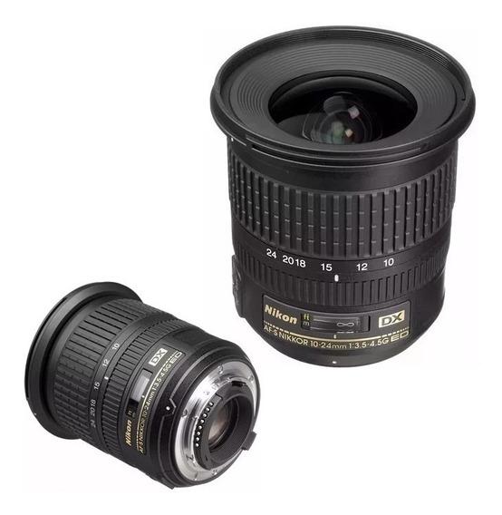 Objetiva Nikon 10-24mm F/3.5-4.5g Ed