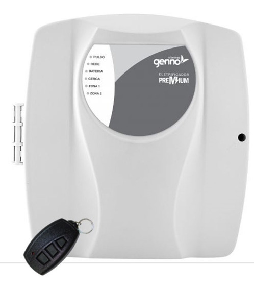 Central De Choque Cerca Elétrica Shock Premium Com Tx Genno