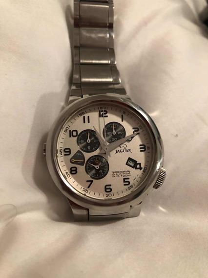 Relógio Jaguar Modelo J1201.1 Swiss Made. Cristal De Safira