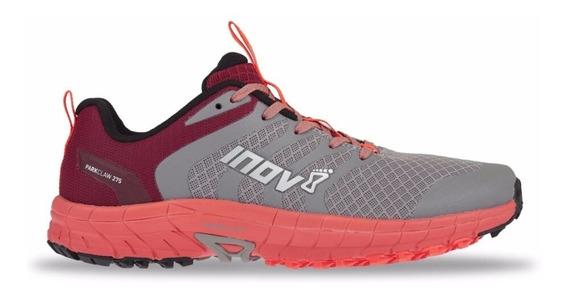 Zapatillas Inov-8 Parkclaw 275 Mujer Gris/coral Running