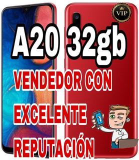 Samsung Galaxy A20s 32/3 Nuevo Libre Local+negro+azul+gtia