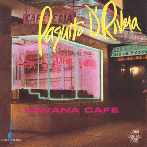 Cd Paquito D`rivera - Havana Café (1992)