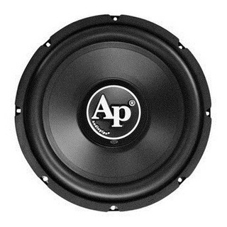 Audiopipe Ts-pp2-d15 Subwoofer 15 Bobina Simple 1500w Cma