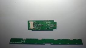 Teclado E Sensor Do Remoto Tv Sharp Lc32sv302b