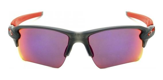Óculos Oakley Flak 2.0 Xl Oo9188 04 Cinza Fosco Prizm Road