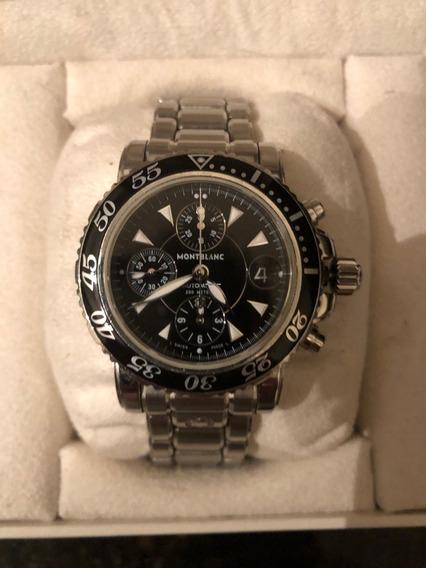 Relógio Montblanc Sport Crono 42mm Ref. 7034 Automático.