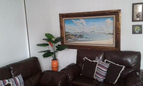 Imagem 1 de 12 de Jose Menino- 2 Dormitórios-reformado Mobiliado 1 Vg-px Praia