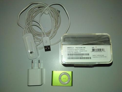 iPod Shuffle 2gb Original  Cargador Y Cable Usb Sin Audífono