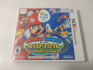Jogo Mario & Sonic At The Rio 2016 Olympic Games
