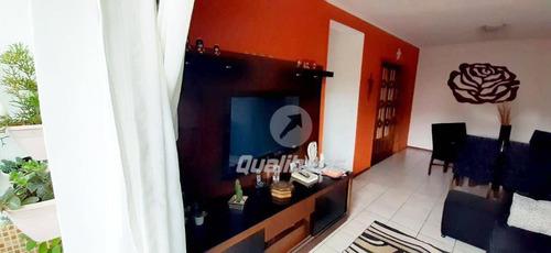 Apartamento Com 2 Dormitórios À Venda, 95 M² Por R$ 375.000,00 - Jardim Guapituba - Mauá/sp - Ap0254