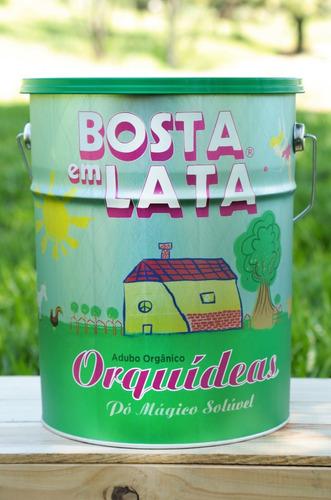 Fertilizante Orgânico Bosta Em Lata Orquídeas - 12 Kg