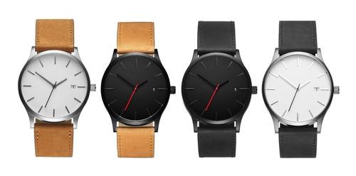 Reloj De Caballero De Lujo Elegante Moda Nuevo Hombre