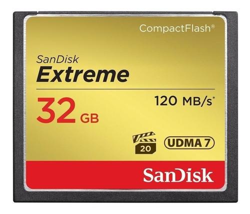 Cartão De Memória Sandisk Sdcfxs-032g-a46 Extreme 32gb