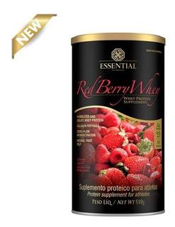 Red Berry Whey - Essential Nutrition - Promoção.