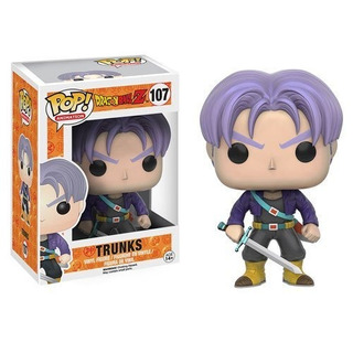 Funko Pop! Dragon Ball Trunks - Nuevo - Sellado - Hadriatica