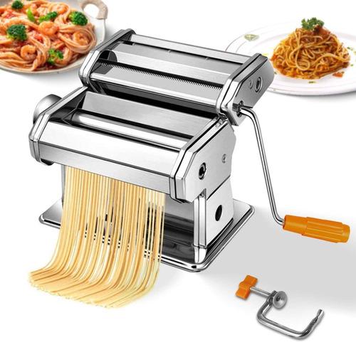 Imagen 1 de 10 de Maquina De Pastas Fabrica Familiar Fideos Lasagna Masa