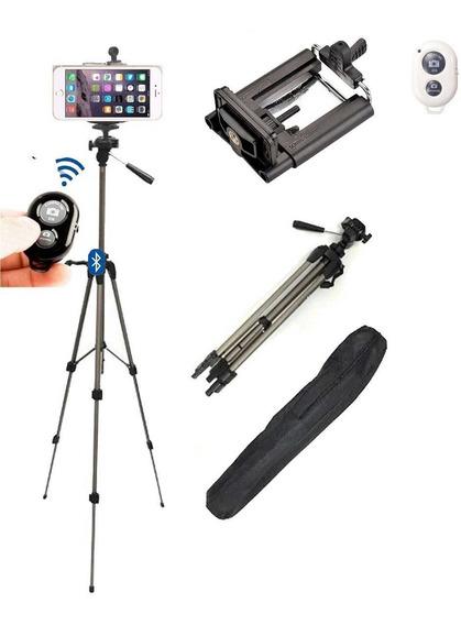 Tripe Para Camera E Adaptador Unico Para iPhone Plus