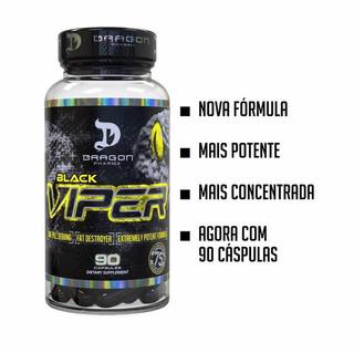 Black Viper Dragon Pharma, 90 Caps, Nova Fórmula! Importado