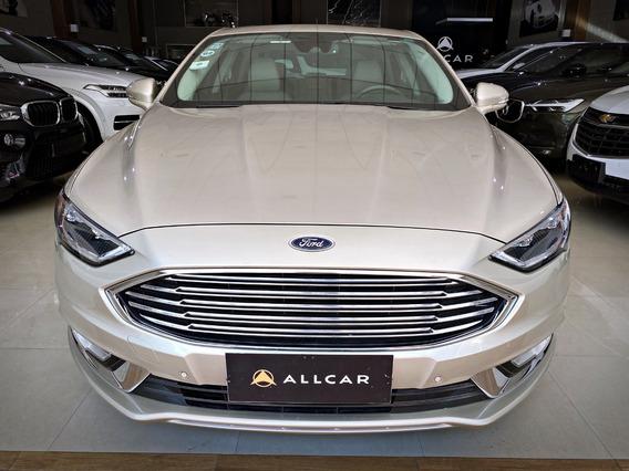Ford Fusion Tit Hybrid C/ Teto Solar 2.0. Prata 2016/17