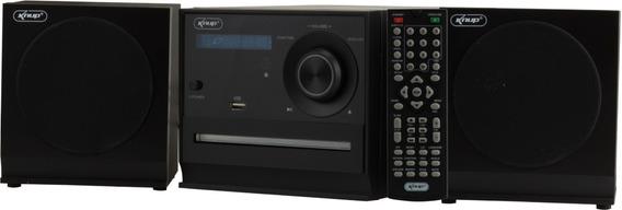 Mini System Bluetooth Dvd Home Usb Cd Player Caixa Som Radio