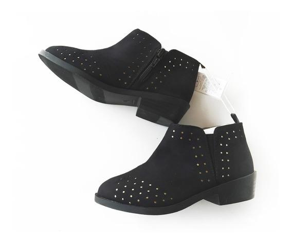 Zapato Botineta Botita Old Navy Talle 9 Y 11 Usa Nena