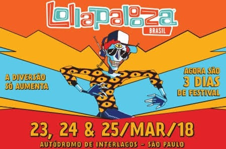 Ingresso Lollapalooza Pass