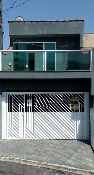Sobrado À Venda, 140 M² Por R$ 375.000,00 - Jardim Las Vegas - Santo André/sp - So17411