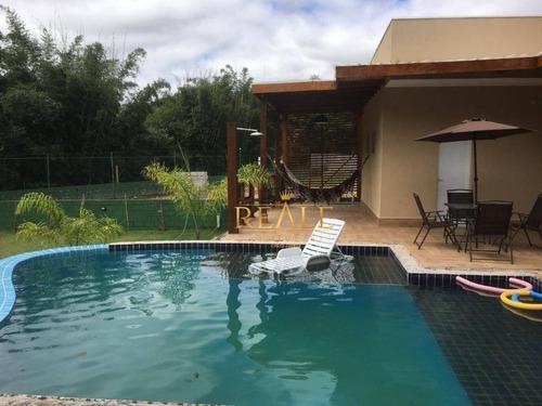 Chácara Com 4 Dormitórios À Venda, 1600 M² Por R$ 1.800.000,00 - Pinheirinho - Vinhedo/sp - Ch0031