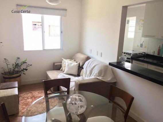Apartamento Com 2 Dormitórios À Venda, 54 M² Por R$ 190.000 - Jardim Esplanada - Mogi Guaçu/sp - Ap0181