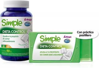 Simple Dieta Control De Arcor Bago 120chicles Envío Gratis