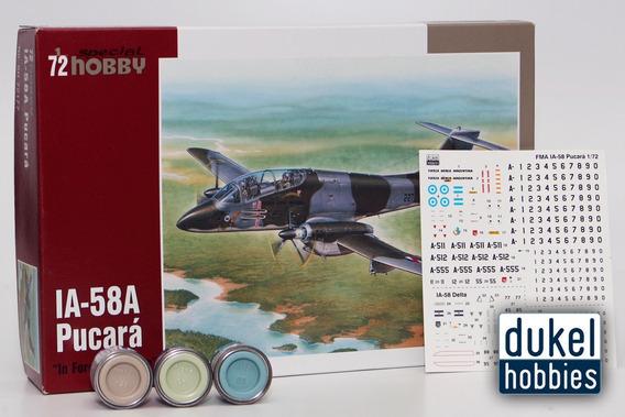 Special Hobby Ia-58a Pucara Calcas Arg (72177) Dukel Hobbies