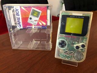 Consola Gameboy Classic Transparente 1989 En Caja Ntdf
