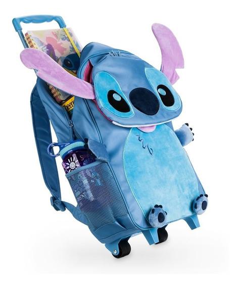 Mochila Carrito Stitch Disney Store Original Única!!