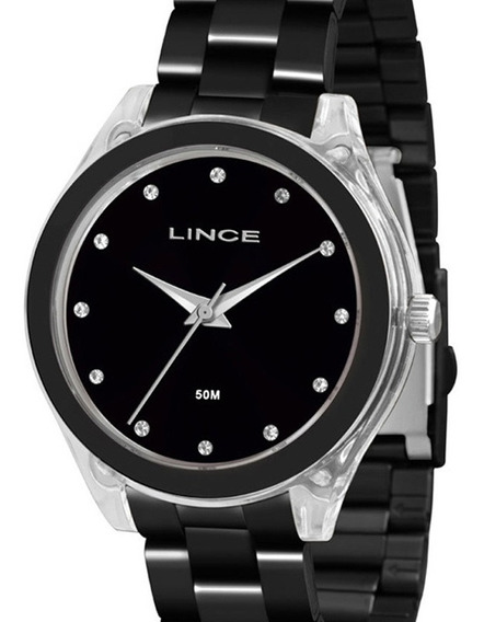 Relógio Lince Feminino Lrn4431p P1px C/ Garantia