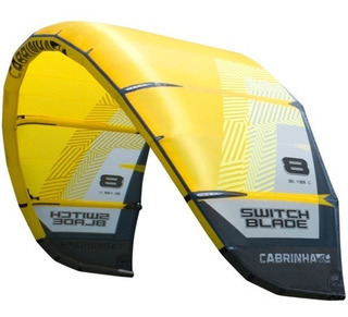Kite Cabrinha Switchblade 10 M 2018 Completo Barra Kitesurf