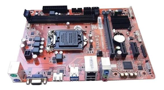 Motherboard Pcware H110m Ipmh110g Lga 1151 Ddr3 / Cpu Intel
