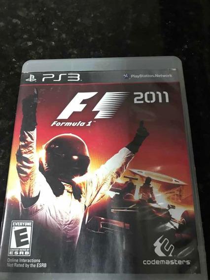 Jogo Ps3 Fórmula 1 2011 Original Mídia Física