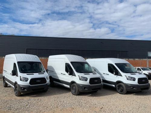 Ford Transit Van Mediana 2.2 2021 Anticipo + Cuotas Fijas