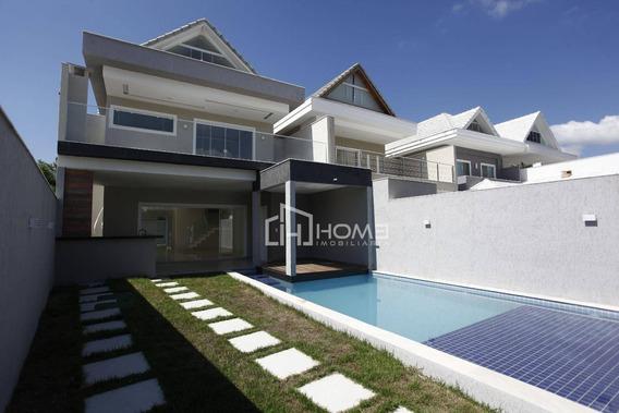 Casa Com 4 Dormitórios Para Alugar, 330 M² Por R$ 8.000,00/ano - Recreio - Rio De Janeiro/rj - Ca0066