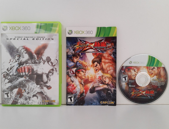 Street Fighter Vs Tekken Xbox 360 Mídia Fisica Original