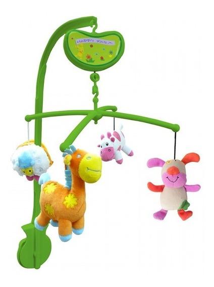 Movil Musical Para Cuna Biba Toys Bm354f