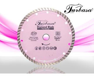 Disco Diamante Turbo 7 Turbasa Con 2 Pzas