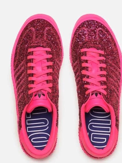 Zapatillas Mujer adidas Sambarose Glitter Fucsia Pink 38