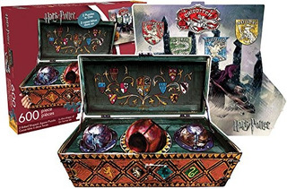 Aquarius Harry Potter Quidditch 600 Pieza 2 Caras Troquelada