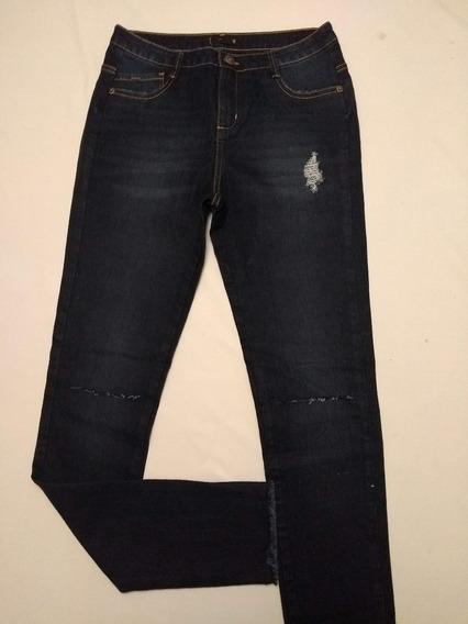 Calça Fem. Jeans Puidos/rasgos Diversos Modelos Rf.d60! Nova