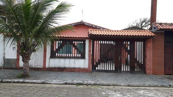 Casa Em Parque Balneário Oásis, Peruíbe/sp De 140m² 4 Quartos À Venda Por R$ 450.000,00 - Ca535049