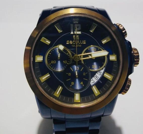 Relógio Seculus Masculino 13014gps/vea1 Original