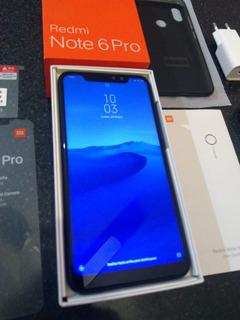 Celular Xiaomi Redmi Note 6 Pro. 2 Funda Y Vidrio Templado